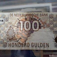 Billetes extranjeros: 100 GULDEN HOLANDA AÑO 1992. Lote 179337668