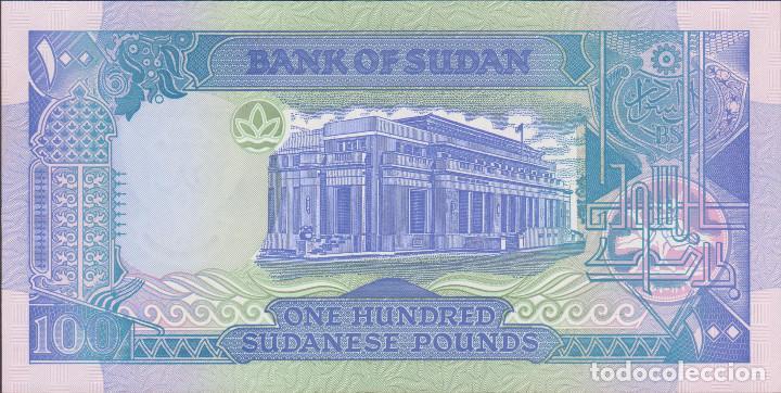 Billetes extranjeros: BILLETES SUDAN - 100 libras sudanesas 1992 -serie H/294-054354 - pick-50b (SC) - Foto 2 - 190901782