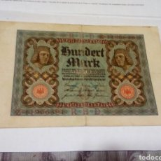 Billetes extranjeros: BILLETE ALEMÁN. Lote 180499786