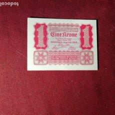 Billetes extranjeros: AUSTRIA 1 CORONA 1922 - SC. Lote 195331867