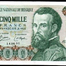 Billetes extranjeros: BELGICA - 5000 FRANCOS 1979 PICK 137. Lote 181595285