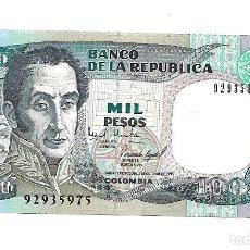Billetes extranjeros: COLOMBIA 1000 PESOS 1995 . PICK 438A SIN CIRCULAR. Lote 182206786