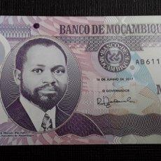 Billetes extranjeros: MOZAMBIQUE 20 METICAIS 2017 SERIE AB POLÍMERO SC. Lote 182629948