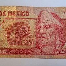 Billetes extranjeros: BILLETE DE MEXICO 100 PESOS. Lote 182860196