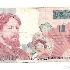 Billetes extranjeros: BELGICA 100 FRANCS 1995-99 PICK 147A. Lote 183088666