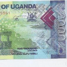 Billetes extranjeros: UGANDA 2000 SHILLINGS 2015 SC / UNC . Lote 183585787