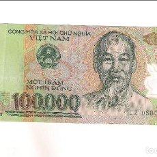 Billetes extranjeros: BILLETE DE 100.000 DONG DE 2004 DE VIET NAM. EMITIDO EN POLÍMERO. EBC. WORLD PAPER MONEY-122 (BE679). Lote 183800481