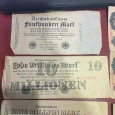 Billetes extranjeros: LOTE DE 3 BILLETES ALEMANIA MILLONES DE MARCOS AÑO 1922 1923. Lote 183878460