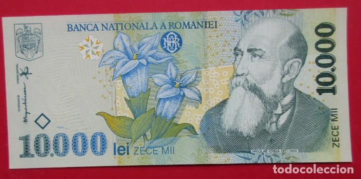 RUMANIA. BILLETE DE 10000 LEI. 1999. SIN CIRCULAR. (Numismática - Notafilia - Billetes Extranjeros)