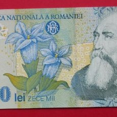 Billetes extranjeros: RUMANIA. BILLETE DE 10000 LEI. 1999. SIN CIRCULAR.. Lote 183900790