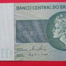 Billetes extranjeros: BRASIL. BILLETE DE 1 CRIZEIRO. . Lote 183994986