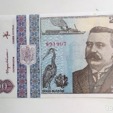Billetes extranjeros: BILLETE 200 LEI RUMANIA 1992 SC. Lote 184092988