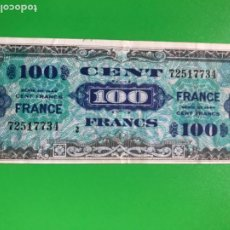 Billetes extranjeros: 100 FRANCS 1944 BILLETE FRANCIA DE 100 FRANCOS SERIE DE 1944 CENT FRANCS NOTE FRANCE . Lote 184250811