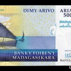 Billetes extranjeros: MADAGASCAR 5000 ARIARY COMM. MAP 2008 PICK 94 SC UNC. Lote 184372958