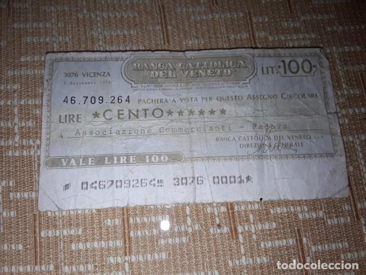 BILLETE DE 100 LIRAS DE VENECIA ,CIRCULADO (Numismática - Notafilia - Billetes Extranjeros)