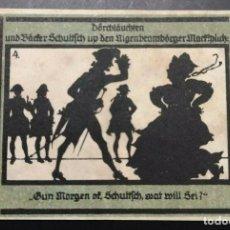 Billetes extranjeros: BILLETE ALEMANIA NOTGELD SOMBRAS 1921 50 PFENNIG IMÁGEN Nº4 UNC/AU. Lote 186393787