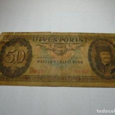 Billetes extranjeros: MAGNIFICOS 65 BILLETES ANTIGUOS. Lote 186459556