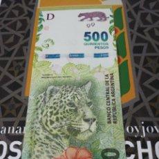 Billetes extranjeros: 500 PESOS ARGENTINA 2016 SC. Lote 187468490