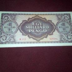 Billetes extranjeros: HUNGRIA , 1000 PENGO 1 MILLAR , 1946. Lote 187474863