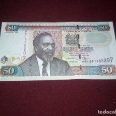 Billetes extranjeros: KENYA 50 SHILLINGS CHELINES 2004 SIN CIRCULAR SC. Lote 187476192