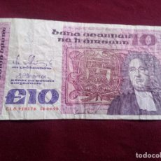 Billetes extranjeros: IRLANDA - 10 LIBRAS - 1990. Lote 187497802