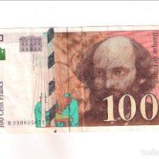 Banconote internazionali: BILLETE DE 100 FRANCOS DE FRANCIA DE 1997. MBC+ WORLD PAPER MONEY-158 (BE74). Lote 189340780