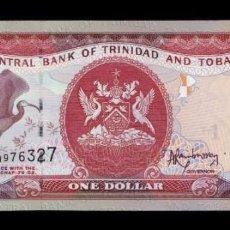 Billetes extranjeros: TRINIDAD & TOBAGO 1 DOLLAR 2006 (2014) PICK 46A SC UNC. Lote 221953926