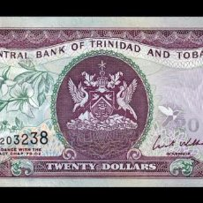 Billetes extranjeros: TRINIDAD & TOBAGO 20 DOLLARS 2006 PICK 49A SC UNC. Lote 221953697