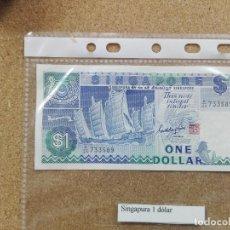 Billetes extranjeros: BILLETES SINGAPUR - 1 DOLLAR SC. Lote 189835331