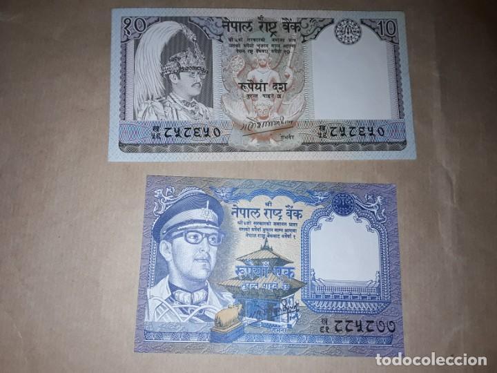 DOS BILLETES DE LAOS, SIN CIRCULAR (Numismática - Notafilia - Billetes Extranjeros)