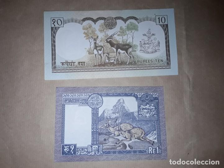 Billetes extranjeros: Dos billetes de laos, sin circular - Foto 2 - 190389142