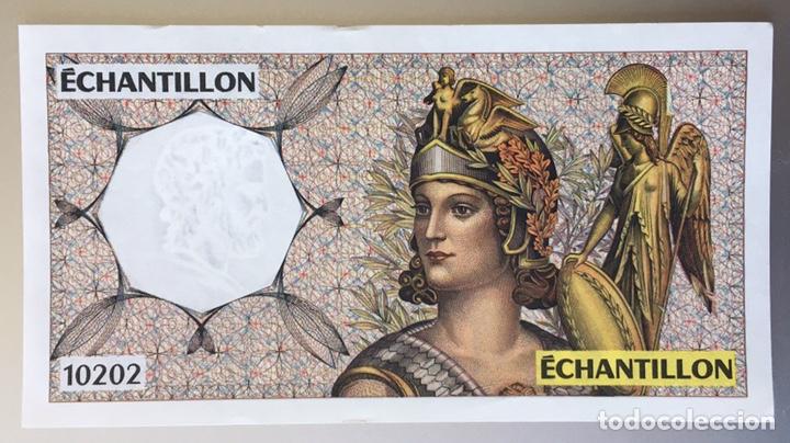 FRANCIA. ECHANTILLON (Numismática - Notafilia - Billetes Extranjeros)