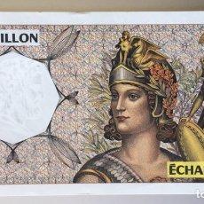Billetes extranjeros: FRANCIA. ECHANTILLON. Lote 190514051