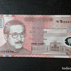 Billetes extranjeros: BANGLADESH 10 TAKA 2000 PICK35 SC. Lote 190516222