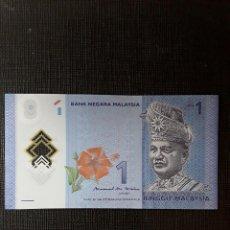 Billetes extranjeros: MALAYSIA 1 RINGGIT 2011 PICK51B SC. Lote 190517011