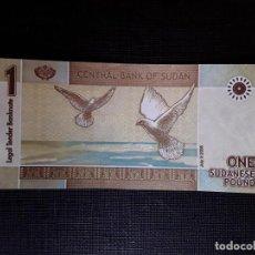 Billetes extranjeros: SUDÁN 1 LIBRA 2006 PICK64A SC. Lote 190549981