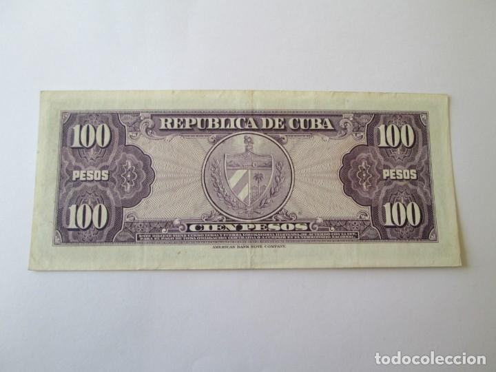 Billetes extranjeros: BILLETE * 100 PESOS 1950 CUBA - Foto 2 - 190564180