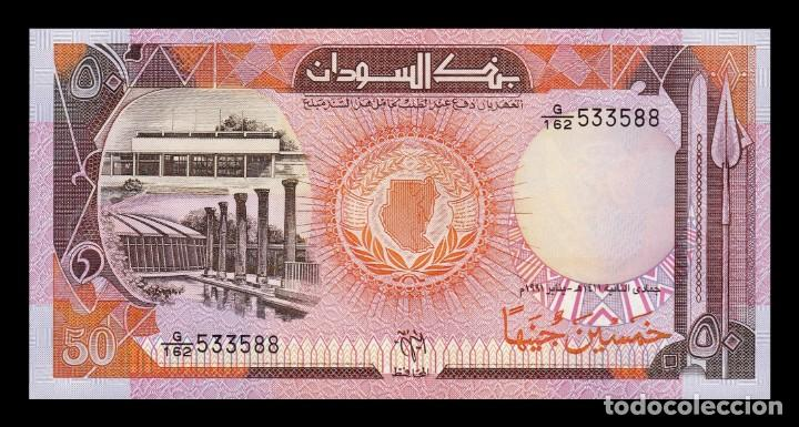 Billetes extranjeros: Sudan 50 Pounds 1991 Pick 48 SC UNC - Foto 1 - 190854912