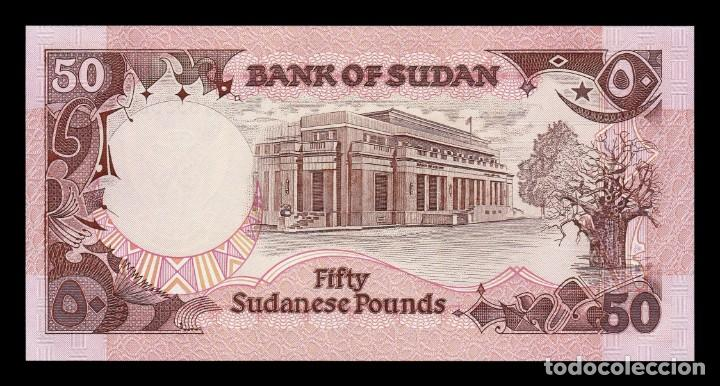 Billetes extranjeros: Sudan 50 Pounds 1991 Pick 48 SC UNC - Foto 2 - 190854912
