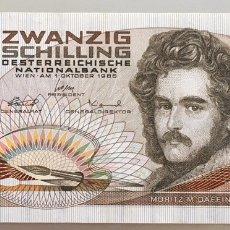 Billets internationaux: AUSTRIA. 20 SCHILLING. Lote 191130318