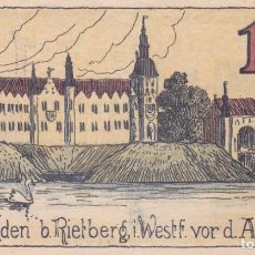 Billetes extranjeros: BILLETE RIETBERG I, ID 1 MF S/C. Lote 191333097