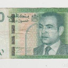 Billetes extranjeros: MARRUECOS- 50 DIRHAMS. Lote 191716817