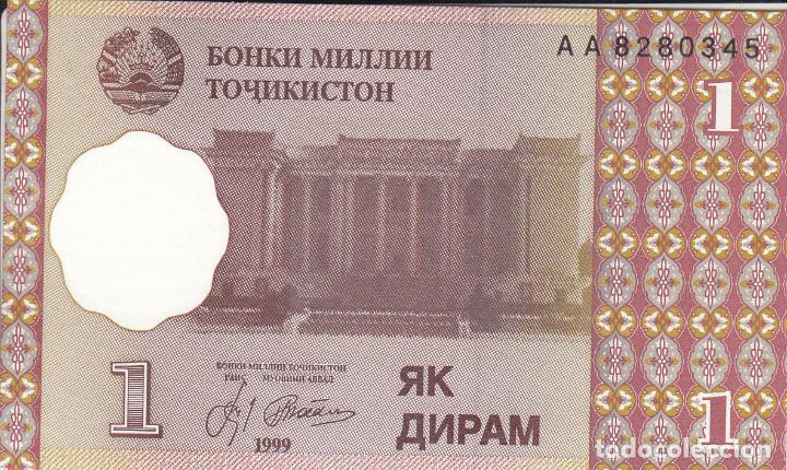 TAYIKISTAN - LOTE 3 BILLETES (Numismática - Notafilia - Billetes Extranjeros)