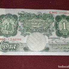 Billetes extranjeros: REINO UNIDO. POUND. EBC. Lote 192017565