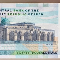 Notas Internacionais: IRAN. 20000 RIALS. Lote 192033260