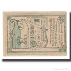 Billetes extranjeros: BILLETE, AUSTRIA, NEUMARKT AN DER YBBS N.Ö. MARKTGEMEINDE, 10 HELLER, BLASON 2. Lote 192099567