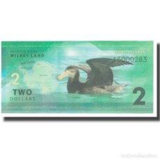 Billetes extranjeros: BILLETE, 2 DOLLARS, 2014, AUSTRALIA, WILKES LAND, UNC. Lote 192099572