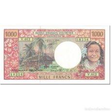 Billetes extranjeros: BILLETE, 1000 FRANCS, 1996, TERRITORIOS FRANCESES EN EL PACÍFICO, UNDATED. Lote 192100582