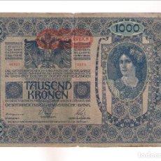 Billetes extranjeros: BILLETE DE 1.000 DE AUSTRIA DE 1902. BC. WORLD PAPER MONEY-61 (BE596). Lote 192144041