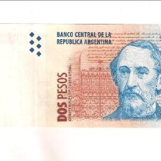 Billetes extranjeros: BILLETE DE 2 PESOS DE ARGENTINA DE 1997-2002. EBC. WORLD PAPER MONEY-346 (BE14). Lote 192144818